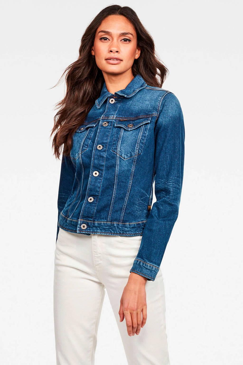 G-Star RAW spijkerjasje 3301 blauw, Blauw