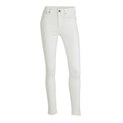 G-Star RAW 3301 high waist skinny jeans wit