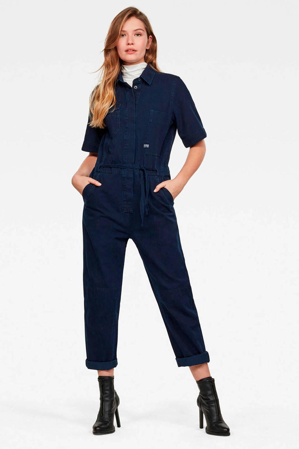 G-Star RAW jumpsuit sartho blue, SARTHO BLUE