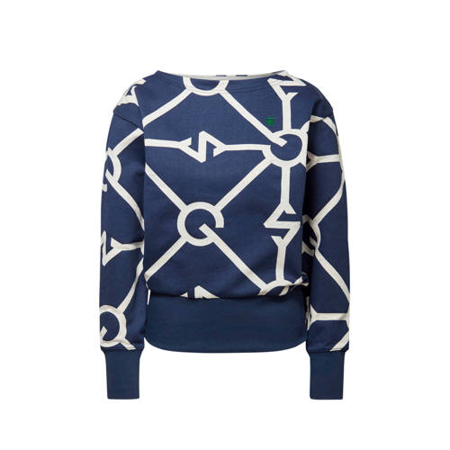 G-Star RAW sweater Xzyph met all over print servan