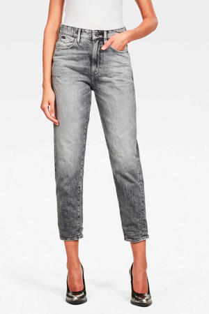 Janeh cropped mom jeans sun faded basalt