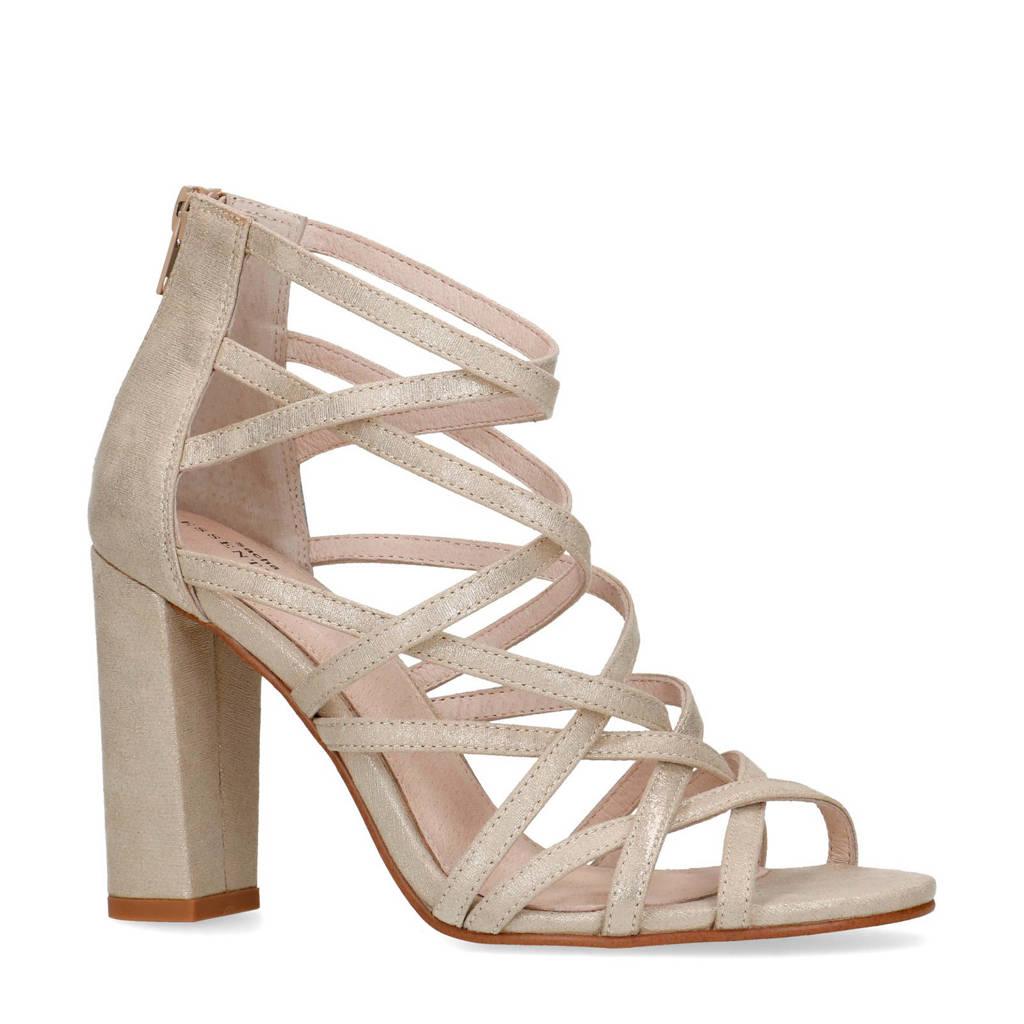 Sacha   sandalettes goud, Goud