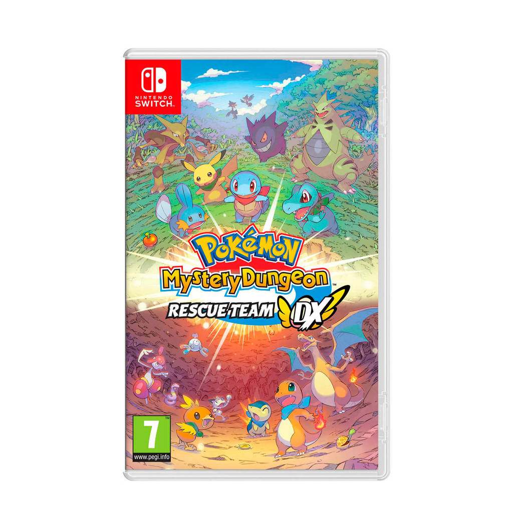 Pokémon Mystery Dungeon: Rescue Team DX  (Nintendo Switch), -