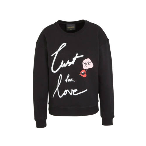 Colourful Rebel sweater Lust For Love met printopd