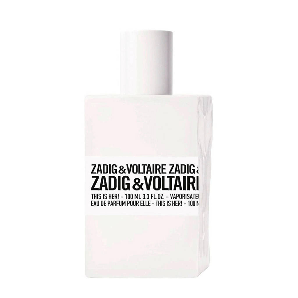 Zadig & Voltaire This is Her! eau de parfum - 100 ml