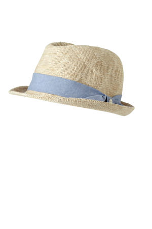 hoed  Knitted Trilby beige