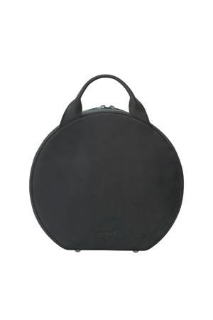 leren handtas MY BOXY BAG zwart
