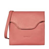 MYOMY  leren crossbody tas MY CARRY BAG FESTIVAL  roze, Roze