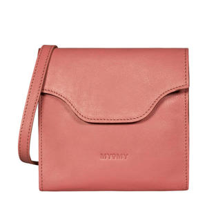 leren crossbody tas MY CARRY BAG FESTIVAL  roze