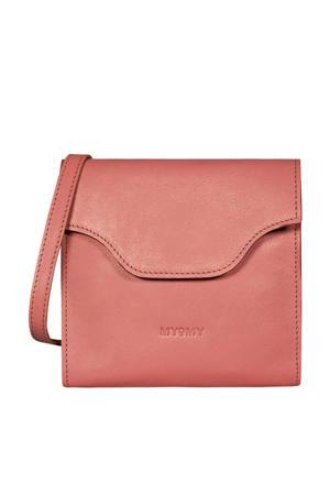 leren crossbody tas MY CARRY BAG FESTIVAL  roze