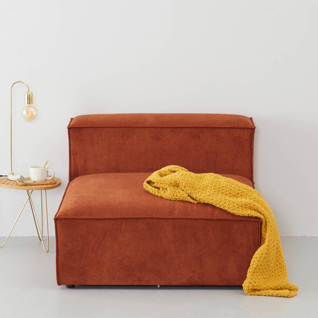 wehkamp home modulair bankelement (chaise) Igor, Terracotta
