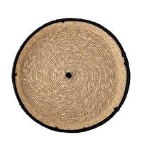 Bloomingville dienblad (Ø25,5 cm), Naturel