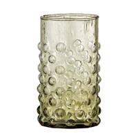 Bloomingville waterglas Freja (Ø6,5 cm), Groen