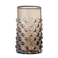 Bloomingville waterglas Freja (Ø6,5 cm), Bruin
