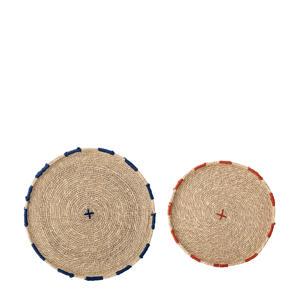placemat (set van 2) (Ø25,5 cm)