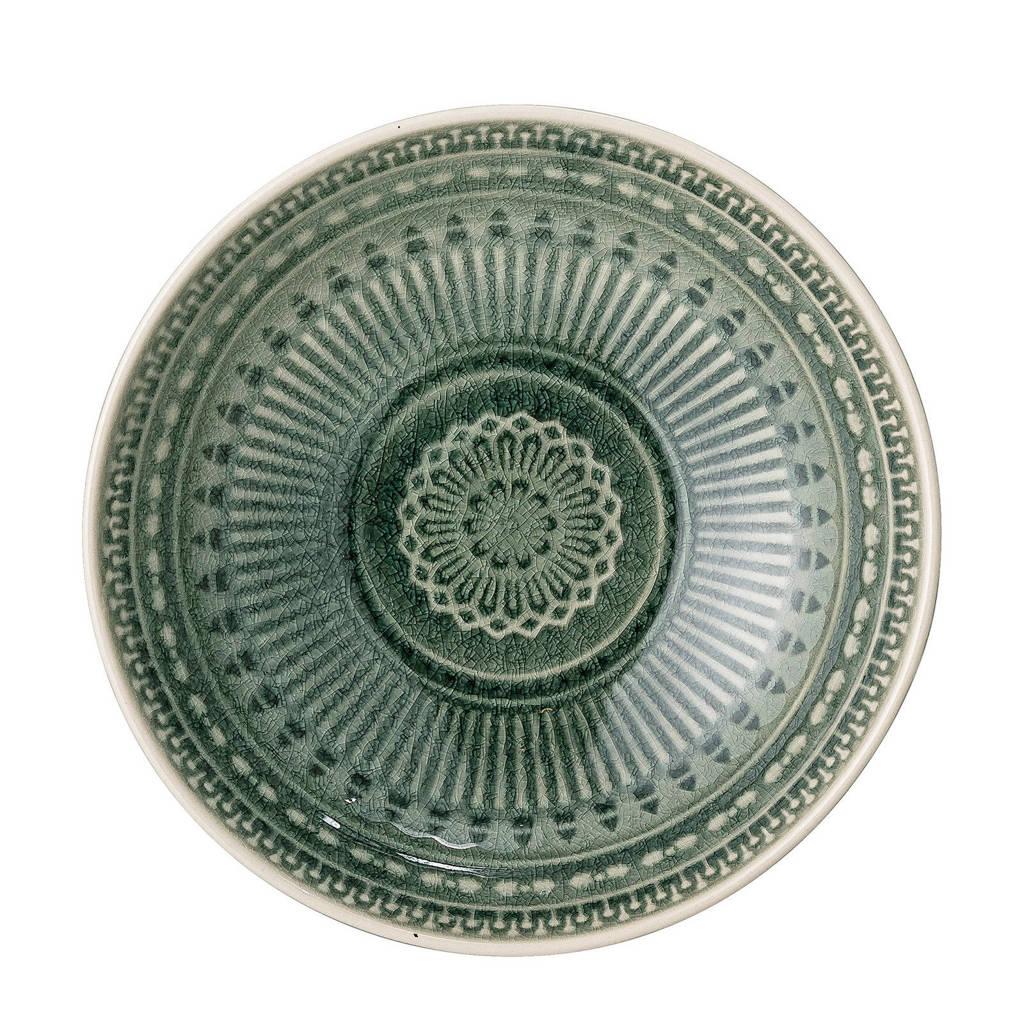 Bloomingville kom Rani (Ø18 cm), Groen