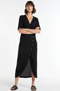 Another-Label overslagjurk Beryle zwart, Zwart