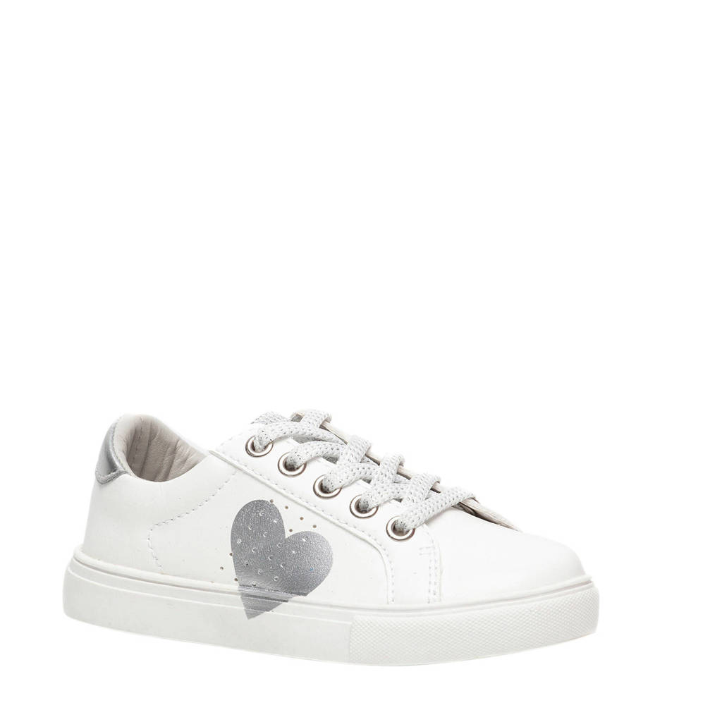 Scapino Blue Box   sneakers wit/zilver, Wit