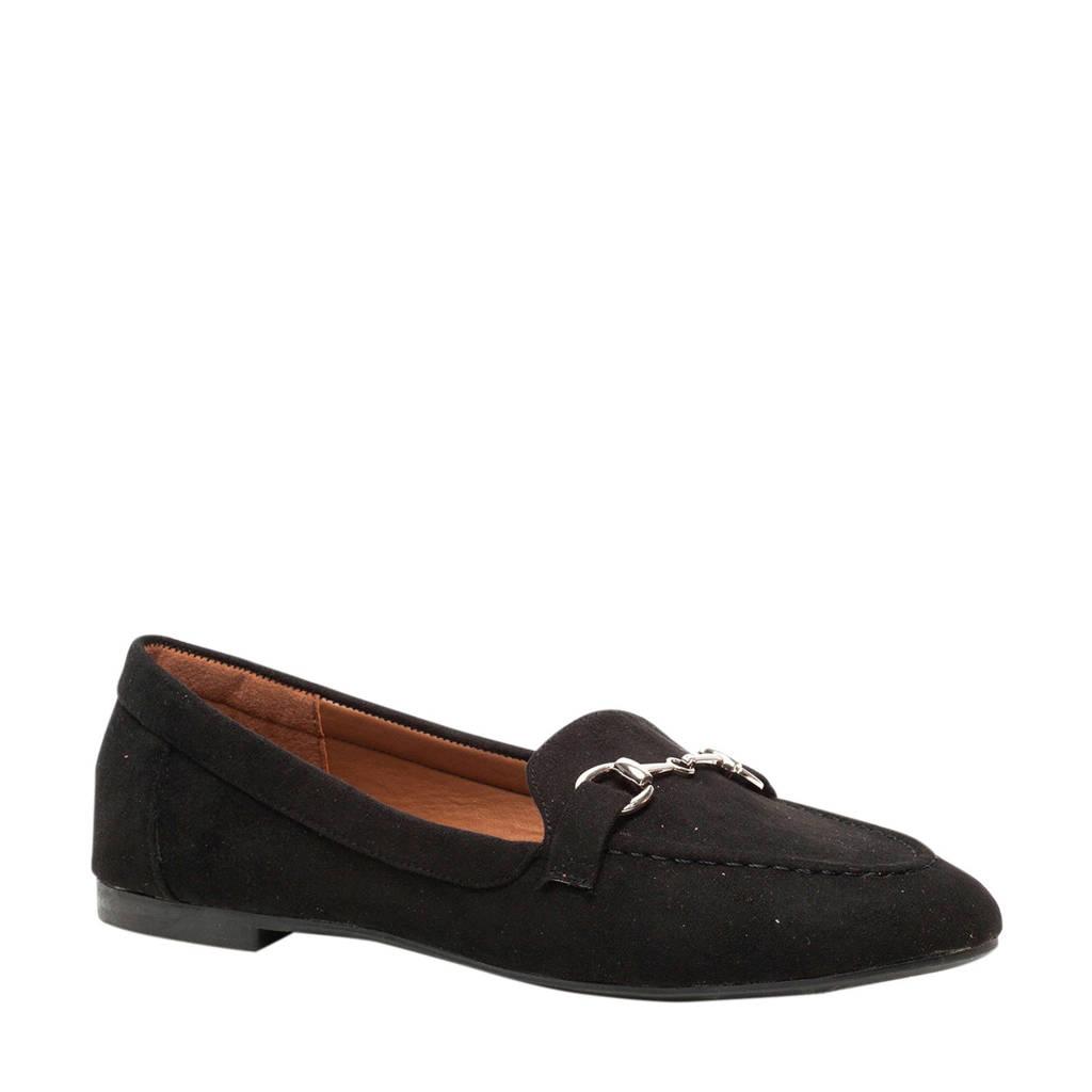 Scapino Nova   loafers zwart, Zwart
