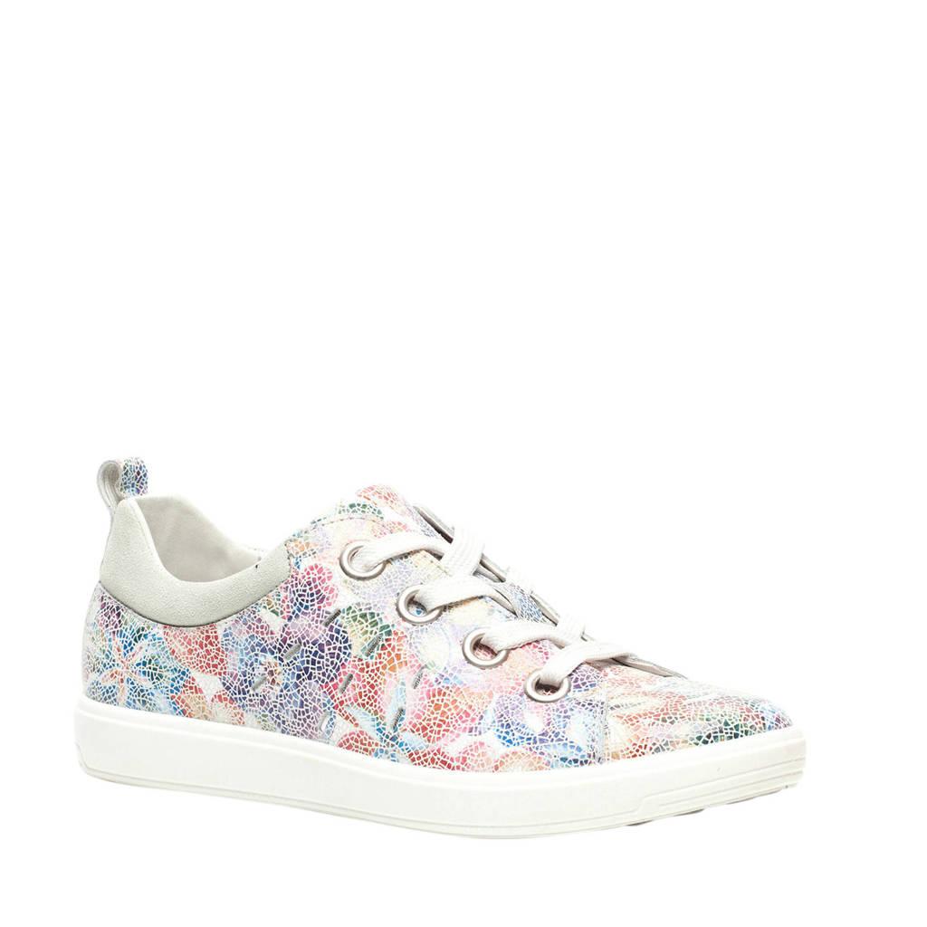 Scapino Natuform   leren sneakers multi/bloemenprint, Multi