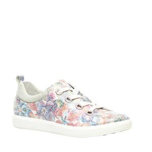 leren sneakers multi/bloemenprint