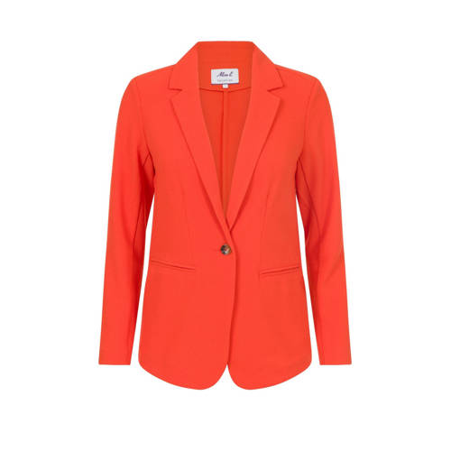 Miss Etam Regulier blazer oranje