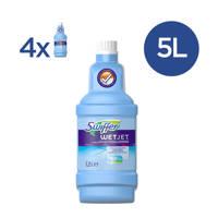 Swiffer  WetJet Alles-In-Een Dweilsysteem - Reinigingsmiddel - 4 x 1,25L