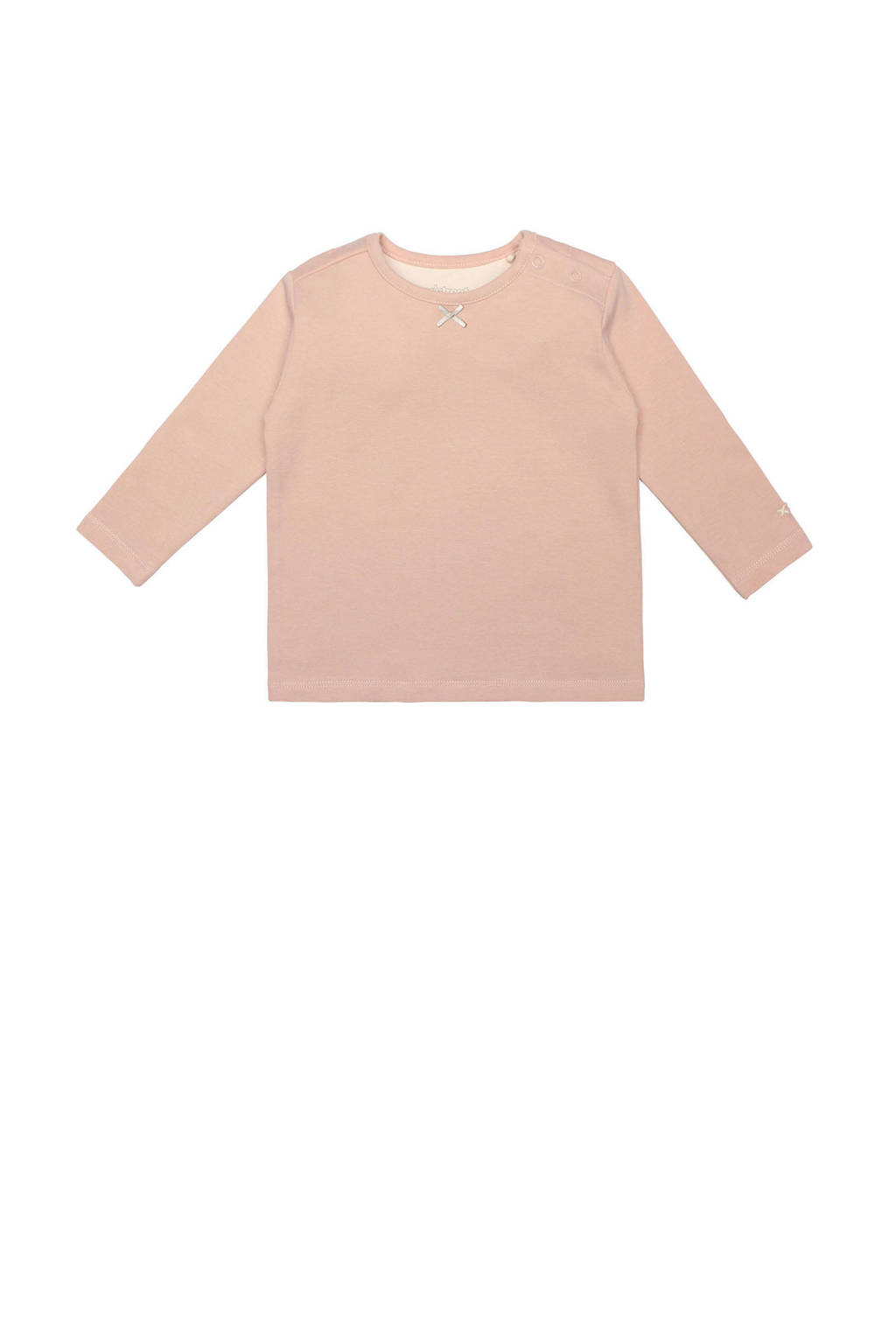 Moodstreet Petit baby T-shirt Rosie lichtroze, Lichtroze