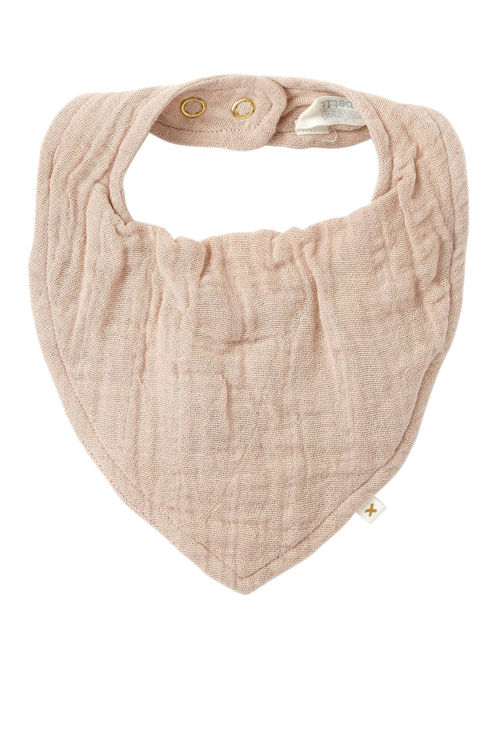 Moodstreet Petit bandana slab lichtroze, Lichtroze