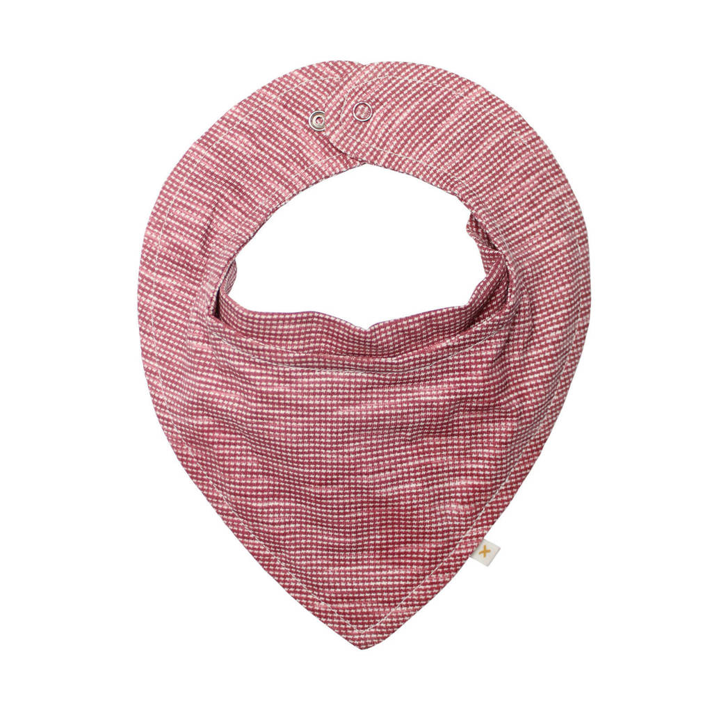 Moodstreet Petit bandana slab rood, Rood