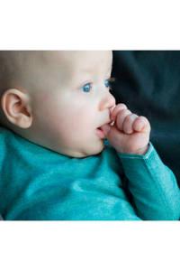 Moodstreet Petit baby gemêleerde trui Puck groen, Groen