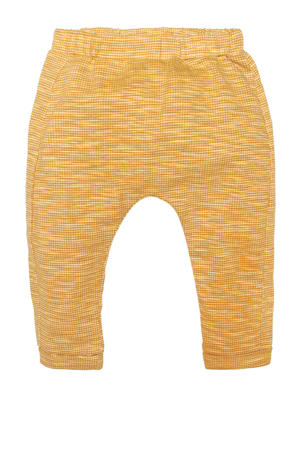 baby geruite regular fit broek Bill goud