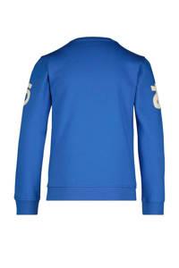 HEMA sweater Siep met tekst blauw, Blauw