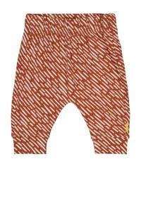 HEMA baby broek met all over print bruin, Bruin