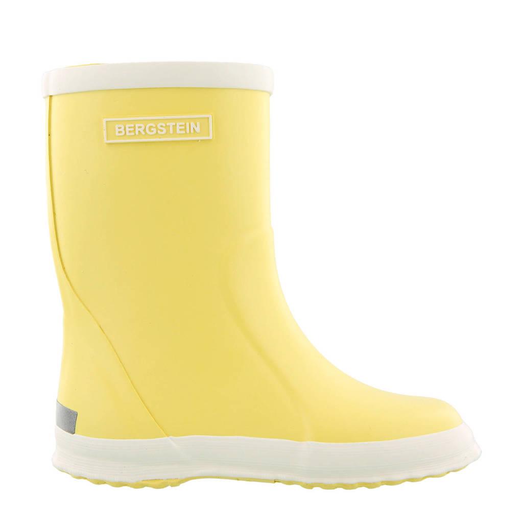 Bergstein Rainboot  regenlaarzen lichtgeel kids, Lichtgeel