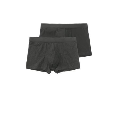 HEMA boxershort (set van 2) grijs