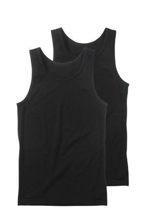 hemd (set van 2) zwart