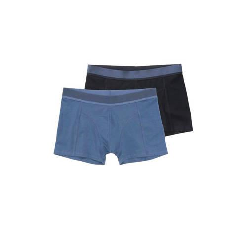 HEMA boxershort met bamboe (set van 2) blauw