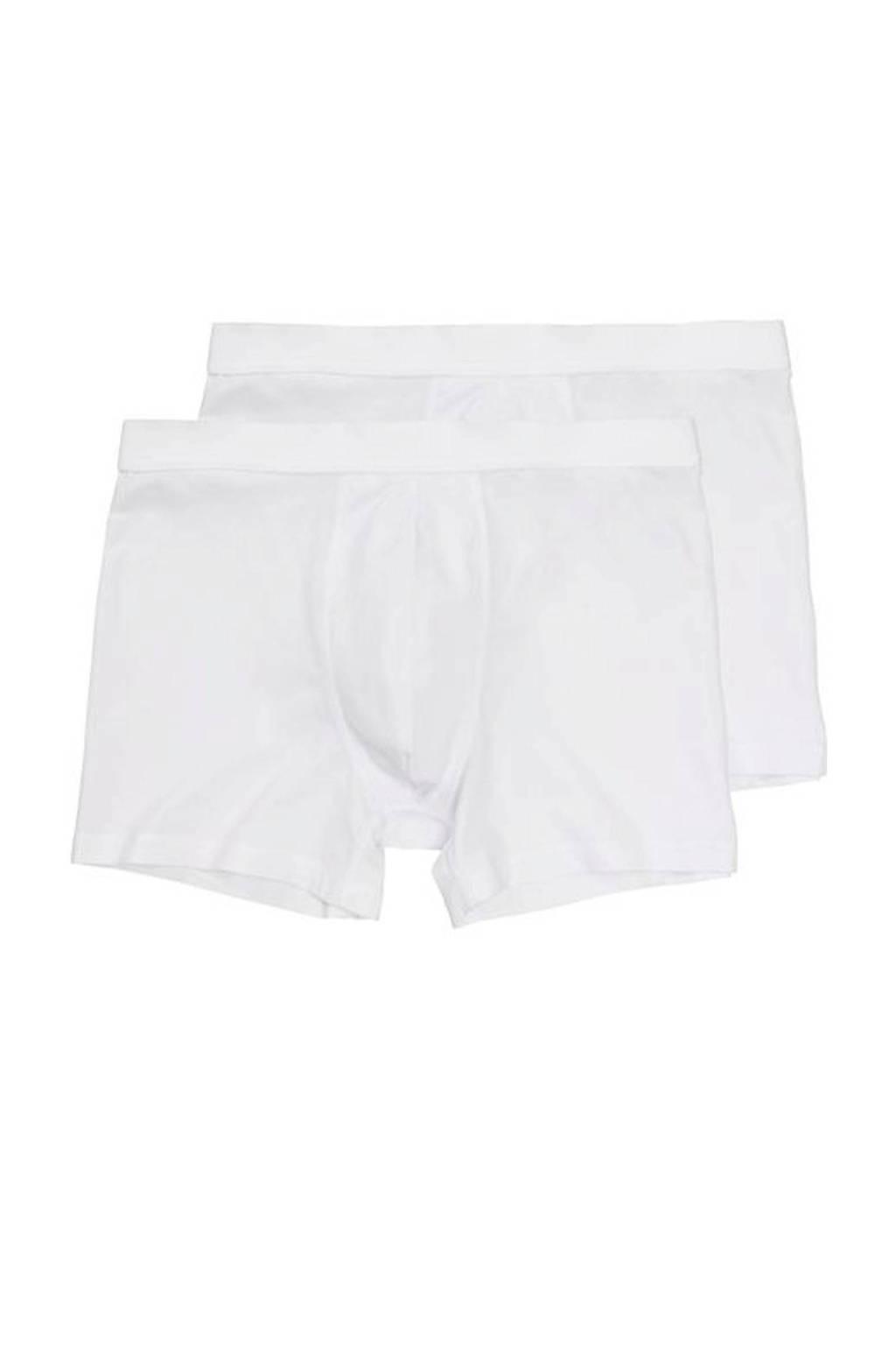 HEMA boxershort (set van 2), Wit