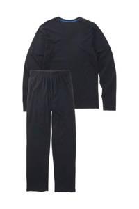 HEMA pyjama donkerblauw, Donkerblauw