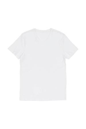 T-shirt met bamboe wit