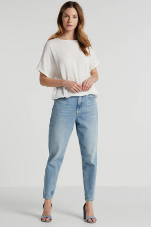 top Amber Stanley cropped ecru