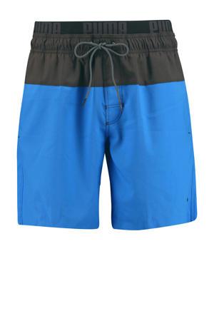 zwemshort blauw/grijs