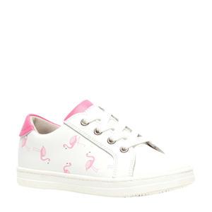 sneakers wit/lichtroze