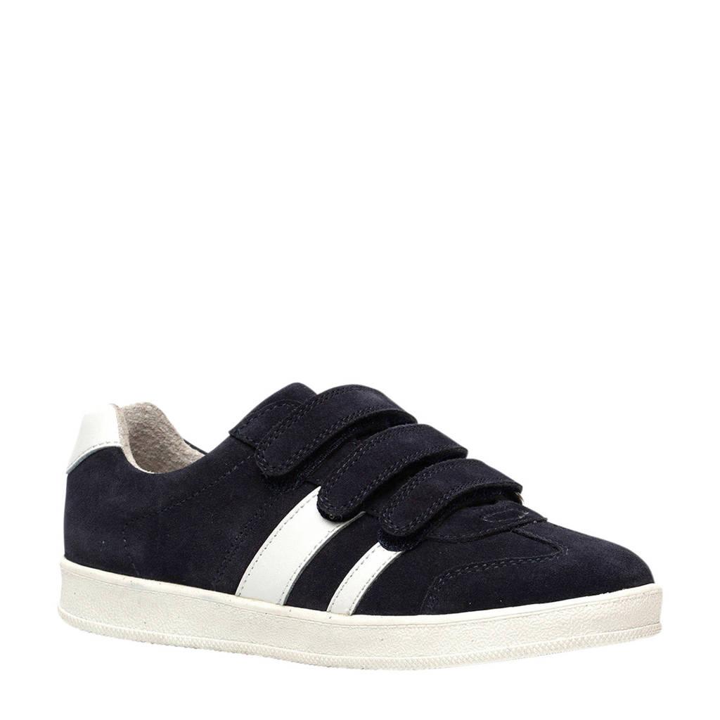 Scapino TwoDay   suède sneakers donkerblauw/wit, Blauw
