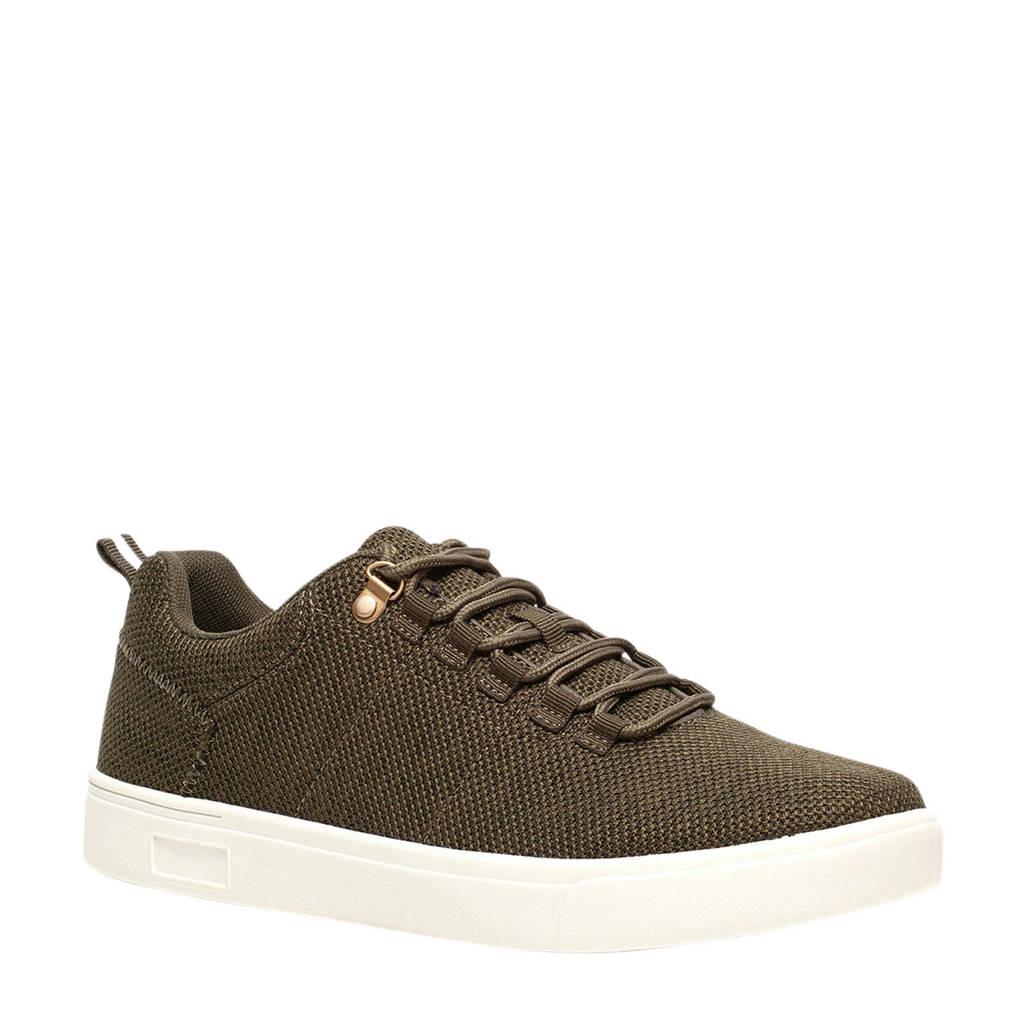 Scapino Blue Box   sneakers kaki, Kaki/groen