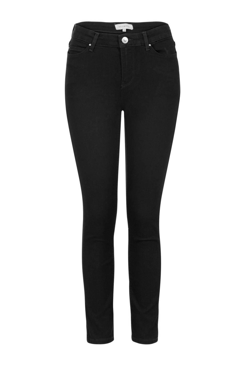 PROMISS skinny jeans zwart, Zwart