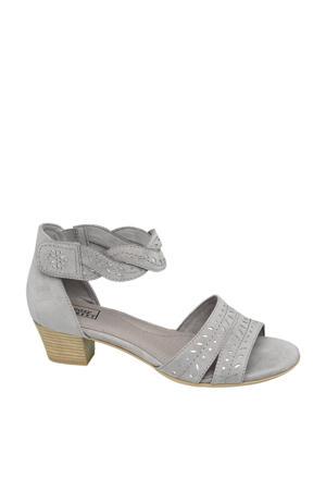 sandalettes grijs