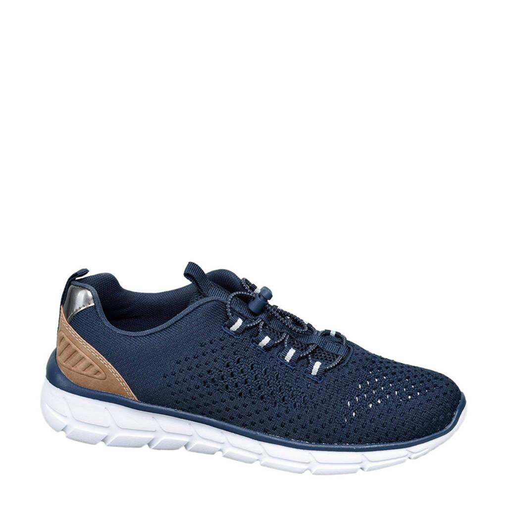 Venice   sneakers donkerblauw, Donkerblauw