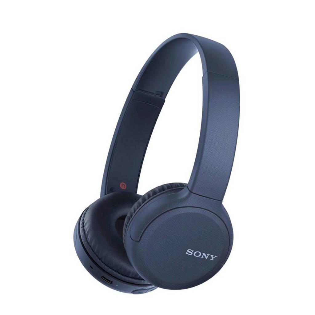 Sony WH-CH510 Bluetooth on-ear koptelefoon (blauw), Blauw